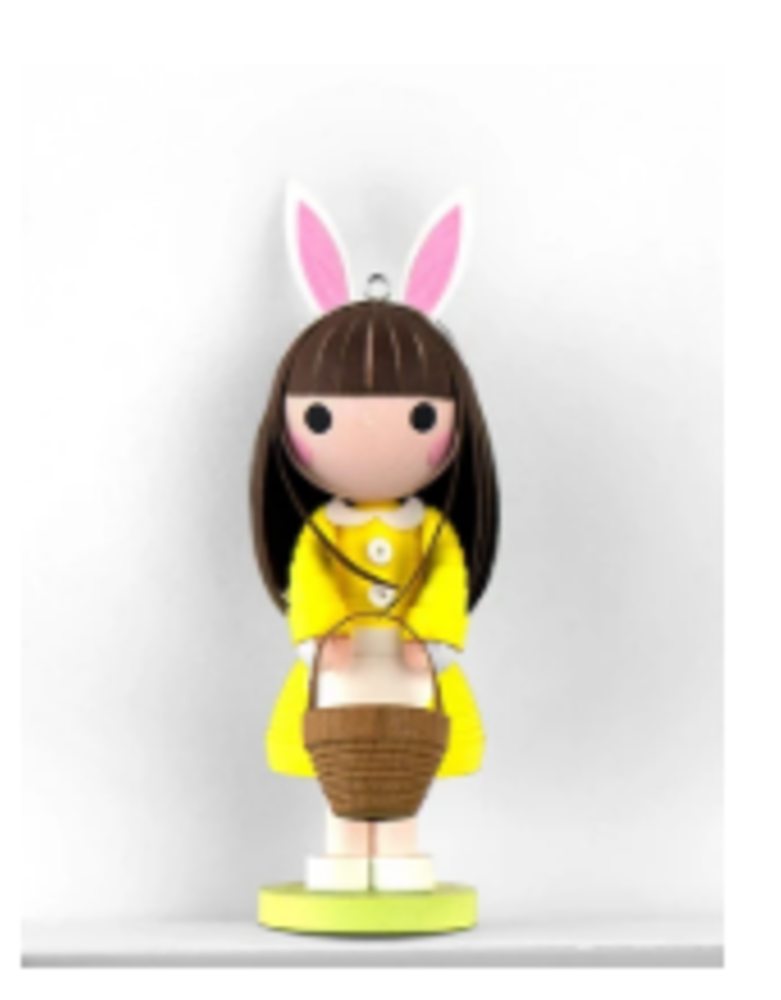 Vietnam, Quilled Easter Doll ornament