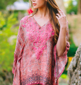 feb19 India, Demira Embroidered Top Pink