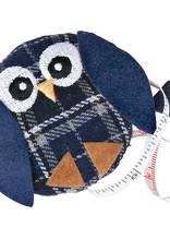 measuring tape owl