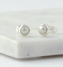 India, Ethereal Pearl Studs
