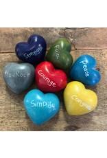 Soapstone Hearts, Word, Kenya