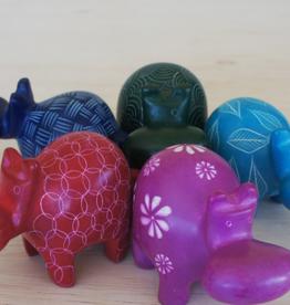 Bright Hippos Soapstone