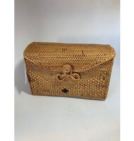 Ata Grass Handbag,  Box, Indonesia