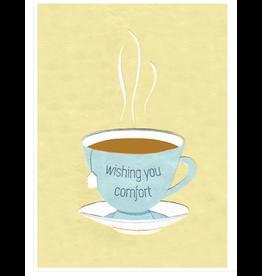 Sympathy Tea Greeting Card, Rwanda
