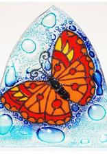 Ecuador, Glass Nightlight Butterfly