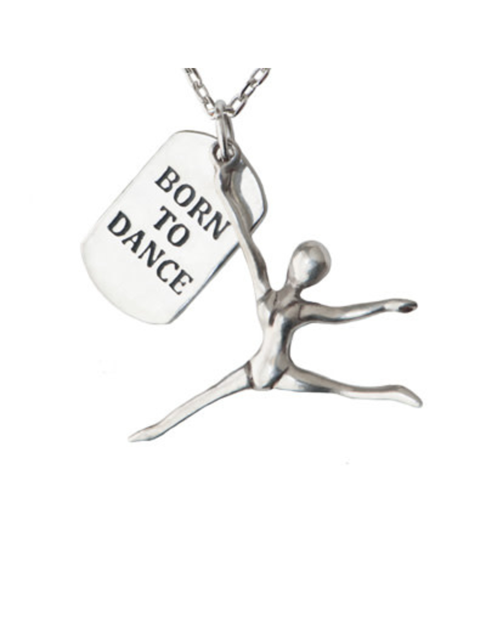 Pendant Necklace Born to Dance