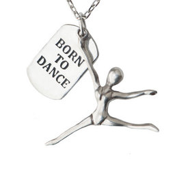 Pendant Necklace Born to Dance