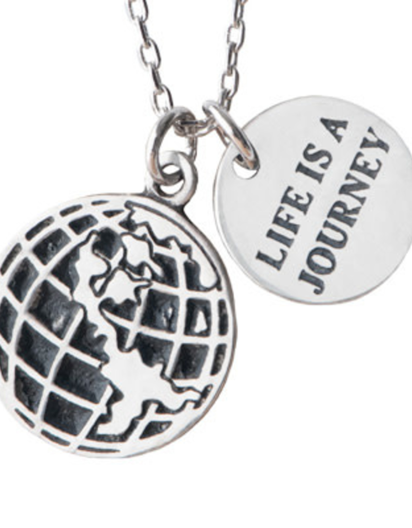 Pendant Necklace Life is a Journey