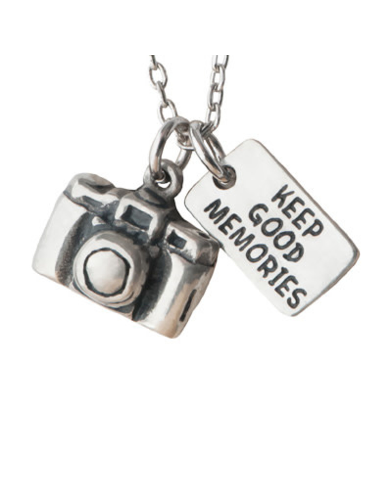 Pendant Necklace Greatful for the Journey, Treasure the Moment, Thailand