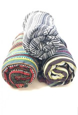 Brushed Cotton Gyari Throw Blanket with strap