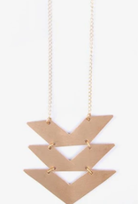 CroppedChevron Necklace