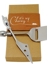 Two Mice Cheese Serving Set