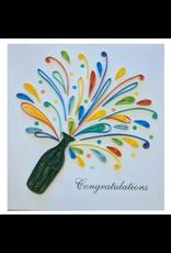Celebration Congrats Quilling Card, Vietnam