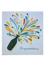 Celebration Congrats Quilling Card