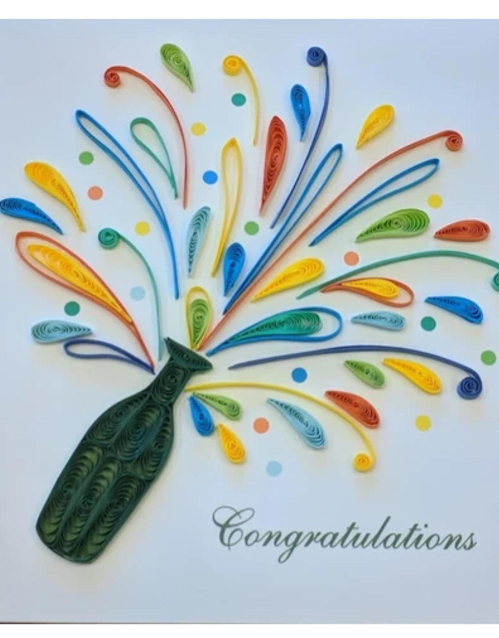 Celebration Congrats Quilling Card