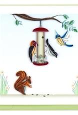 Vietnam, Quill Bird Feeder