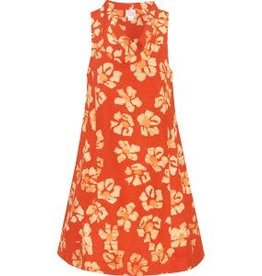 Eli Cutout Dress, Tangerine, Ghana