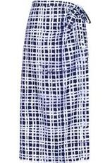 Ghana, Wrap Plaid Long Skirt