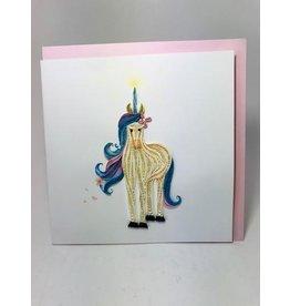 Unicorn Quilling Card, Vietnam
