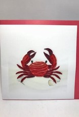 Red Crab Quilling
