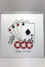Casino Birthday Quill