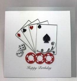 Casino Birthday Quill