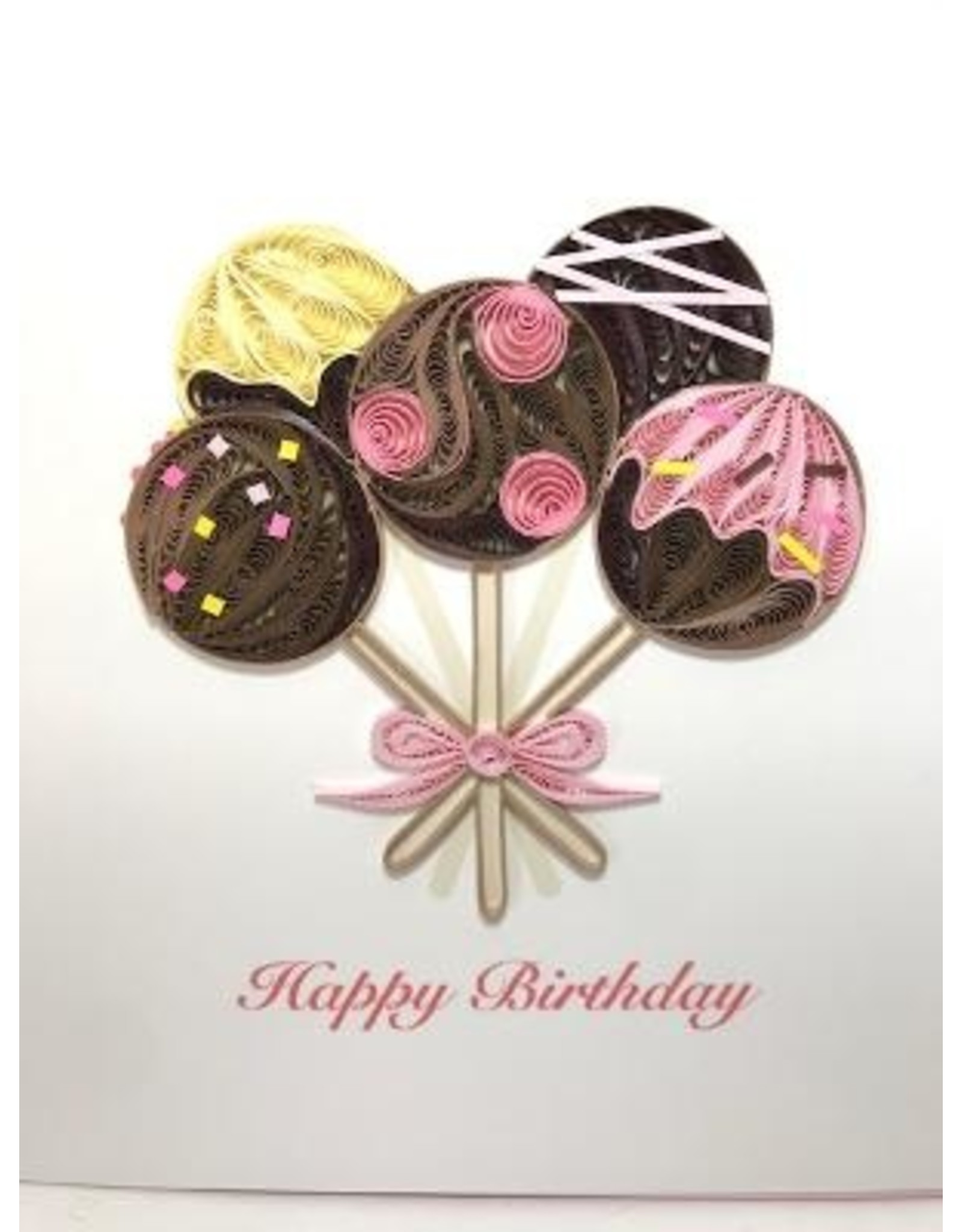 Birthday Cake Pops Card