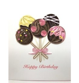 Birthday Cake Pops Card