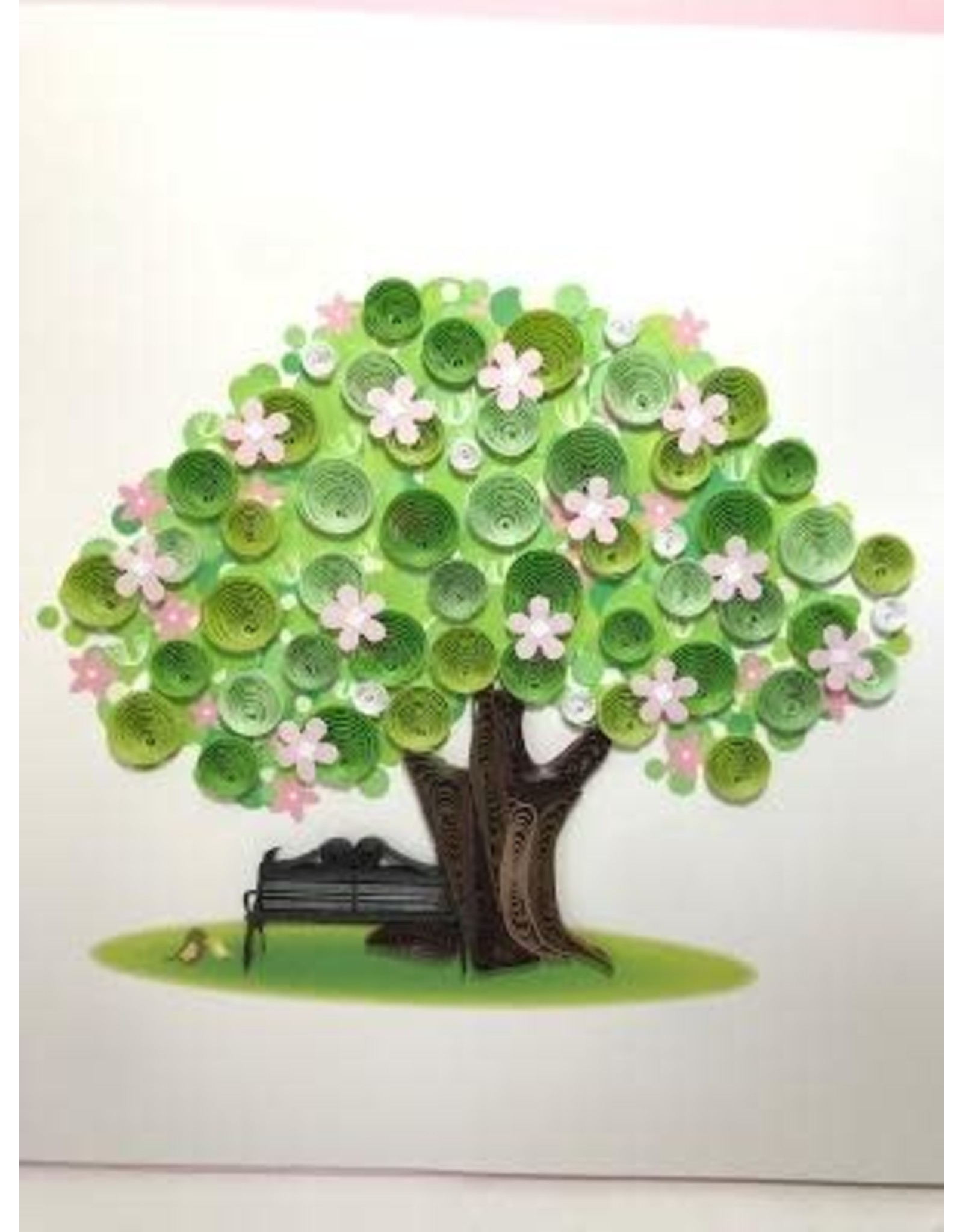 Quilling Cards Spring Tree, Vietnam