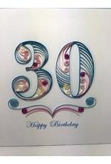 30th Birthday Quill