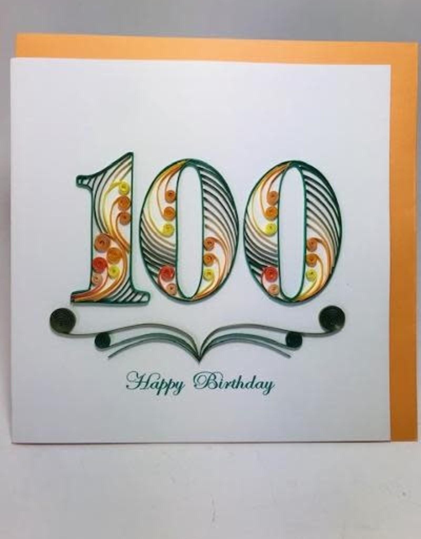 100th Birthday Quill