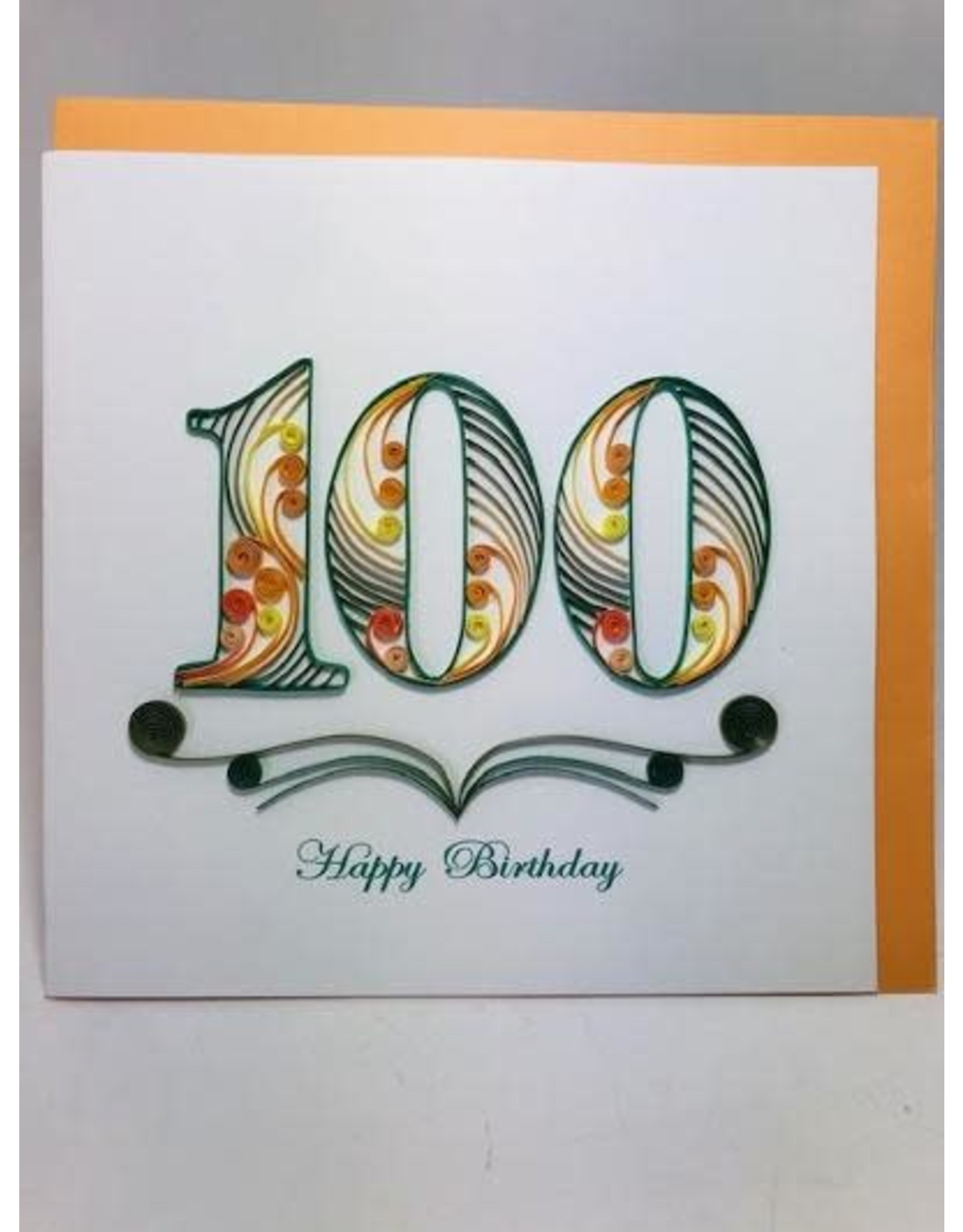 100th Birthday Quill