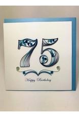 75th Birthday Quill