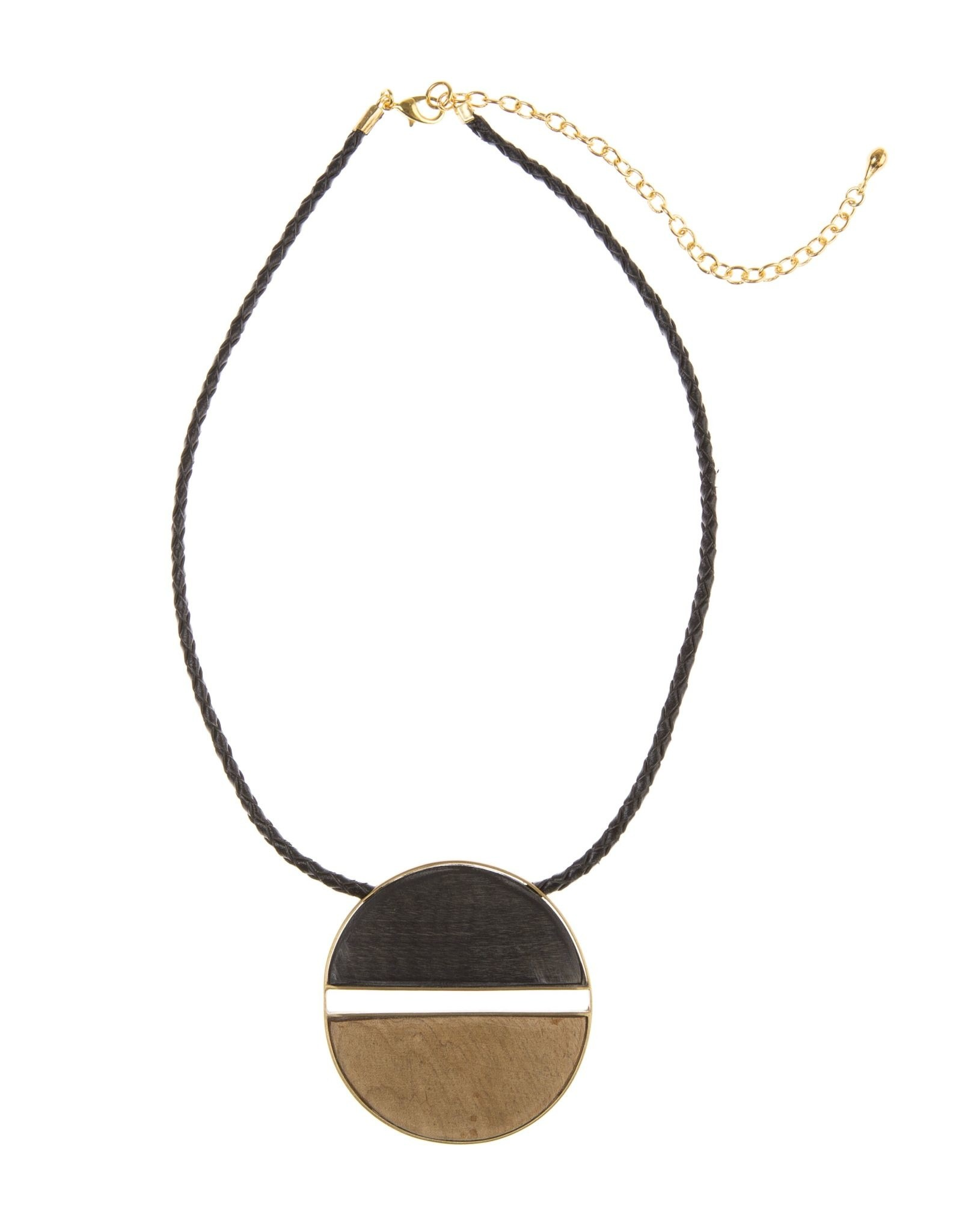 Vietnam, Emilia Pendant Horn, Necklace, Dark