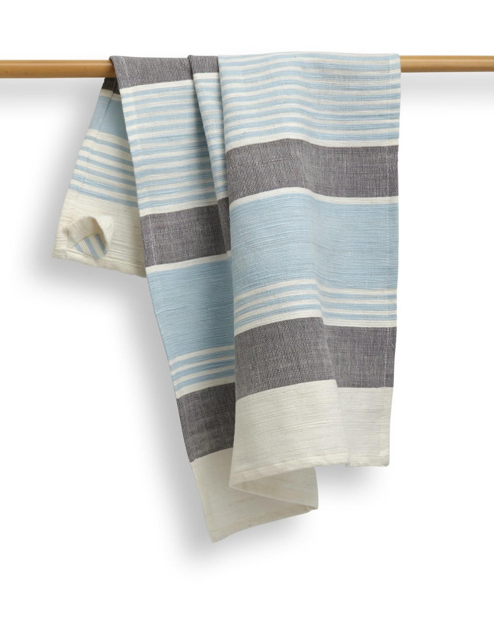 India, 27 x 19 Cotton Handwoven Kitchen Towels Maya