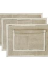 India, Block Printed Cotton Placemat