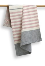 India, 27 x 19 Cotton Handwoven Kitchen Towels Peppercorn