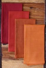India, 16 x 16 Cotton Napkins Auburn