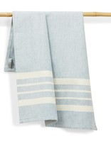 India, 27 x 19 Cotton Handwoven Kitchen Towels Sky
