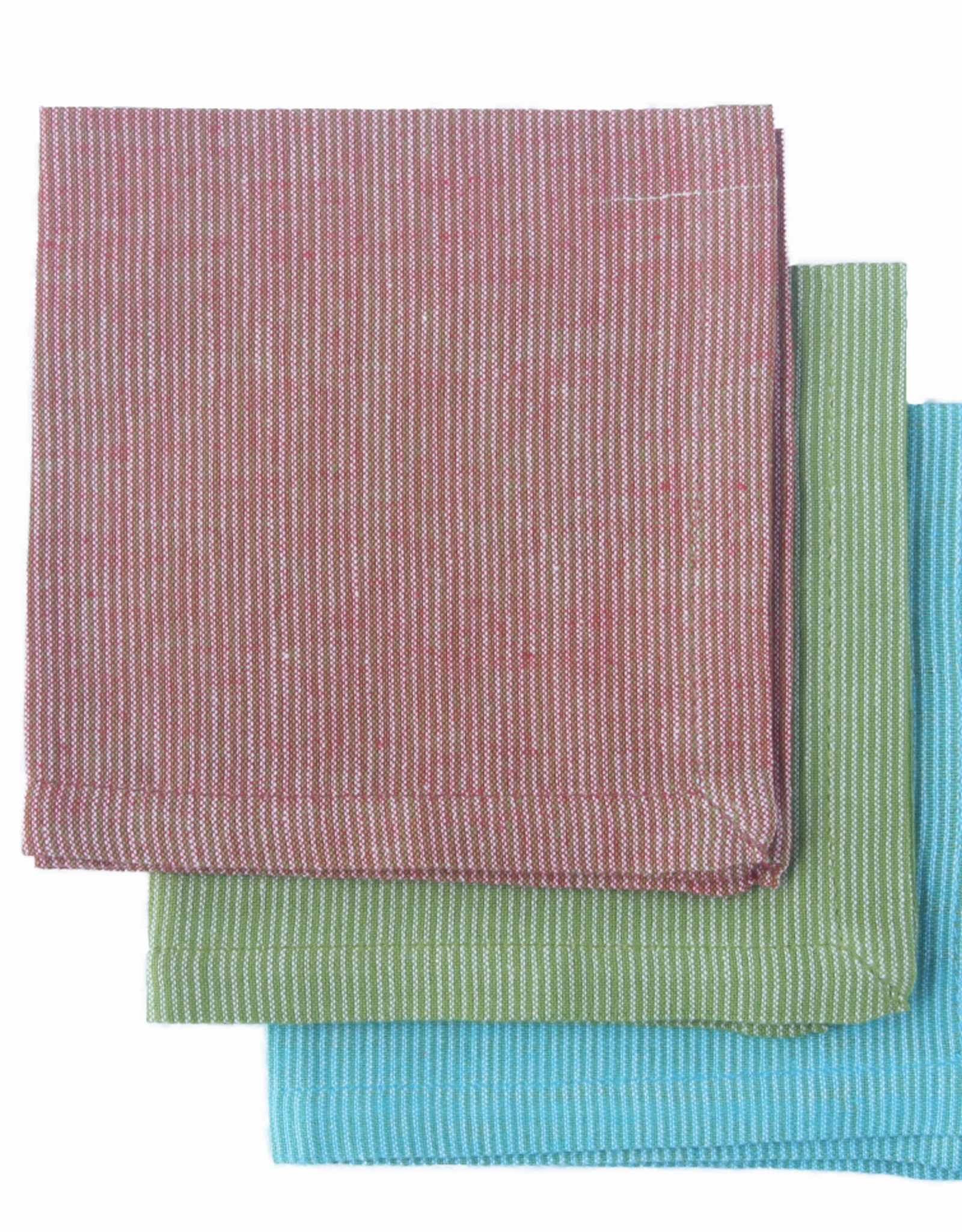 India, 9 x 9 Cotton Handkerchief Charlotte