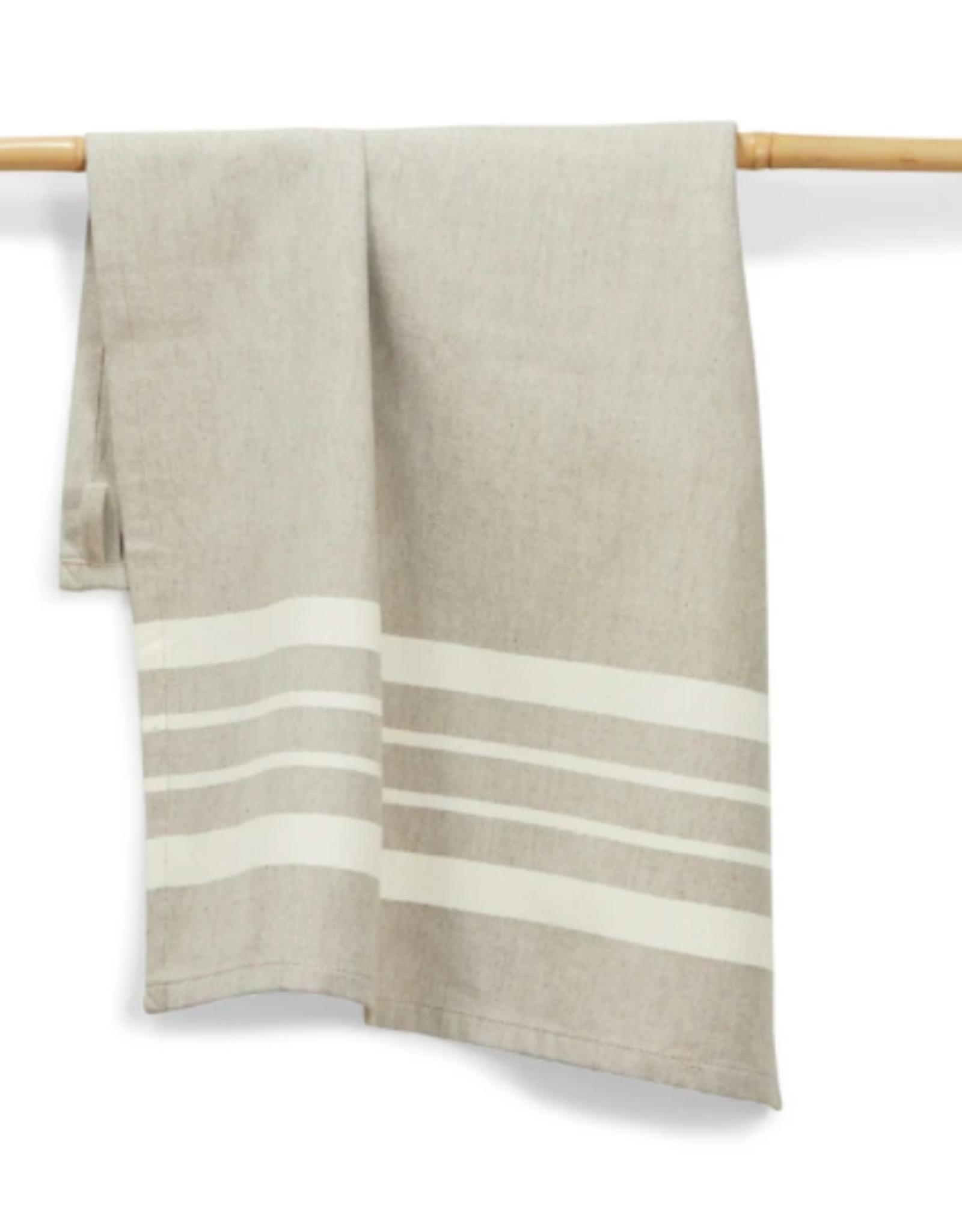 India, 27 x 19 Cotton Handwoven Kitchen Towels Chai