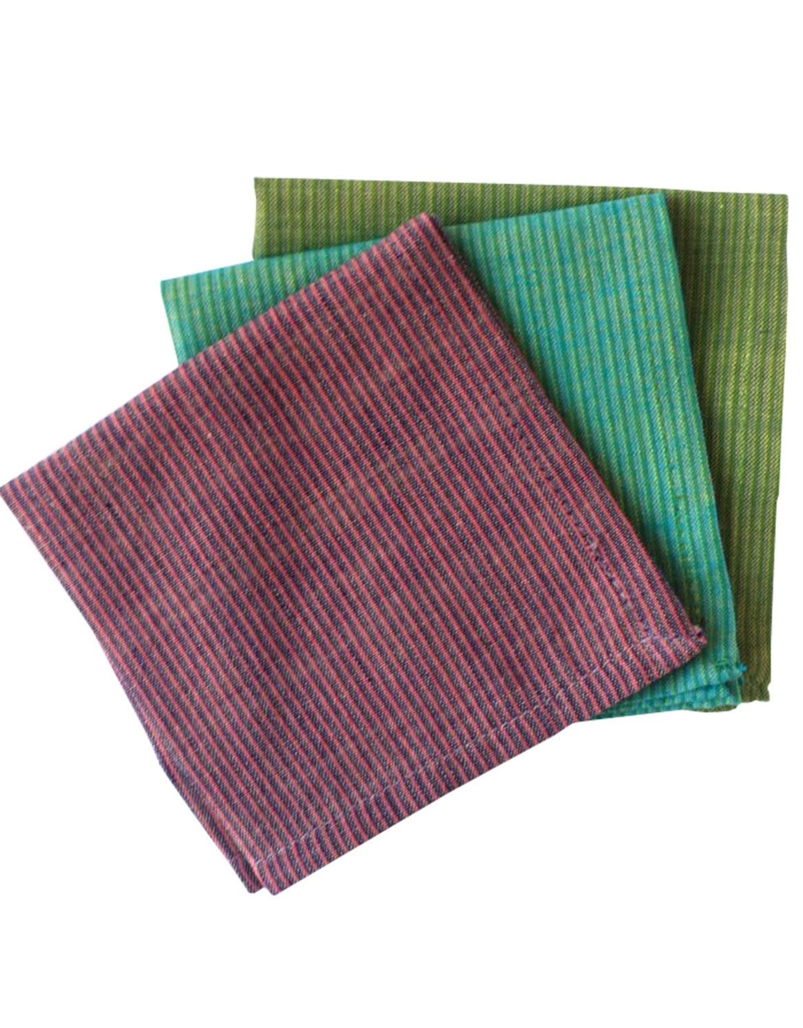 India, 9 x 9 Cotton Handkerchief Brooklyn