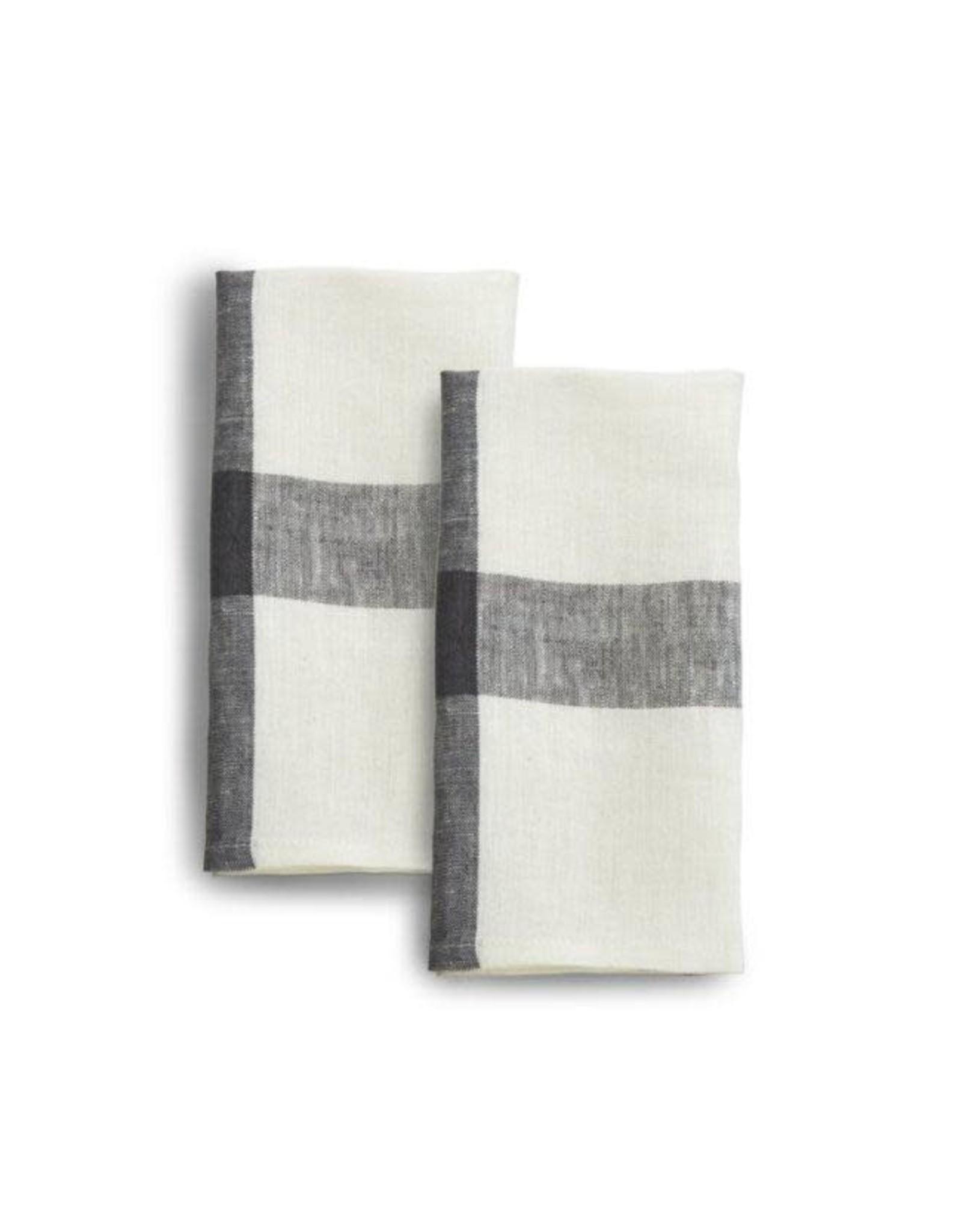 India, Linen, 20 x 20 Napkins, Set of 2 Blue Corn