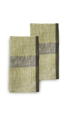 India, Linen, 20 x 20 Napkins, Set of 2 Rosemary