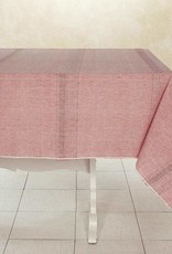 "India, Woven Cotton Tablecloth 90""x60"" Sun Rose"