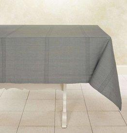 "India, Woven Cotton Tablecloth 90""x60"" Mushroom"