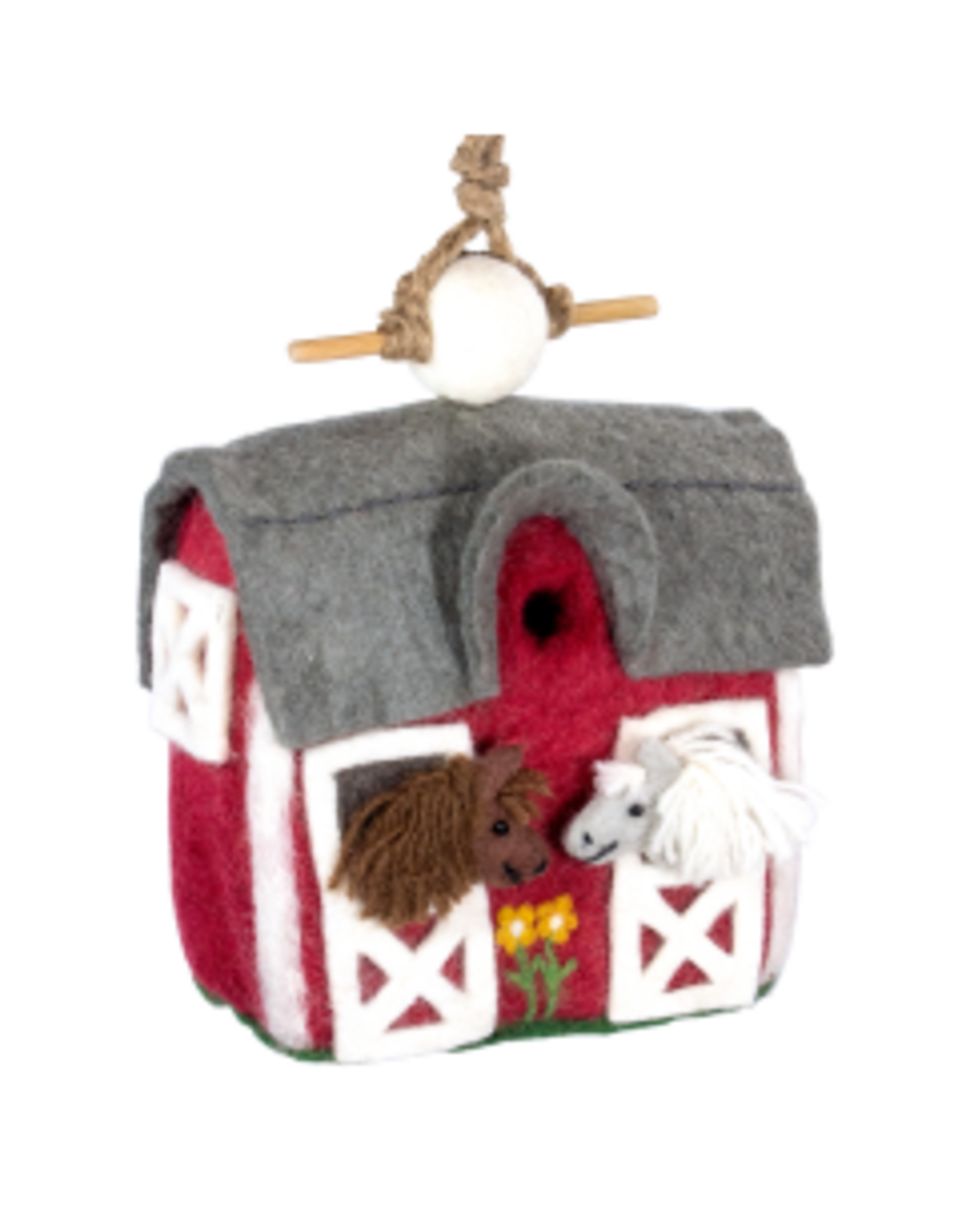 Felt Birdhouse Country Stable, Nepal