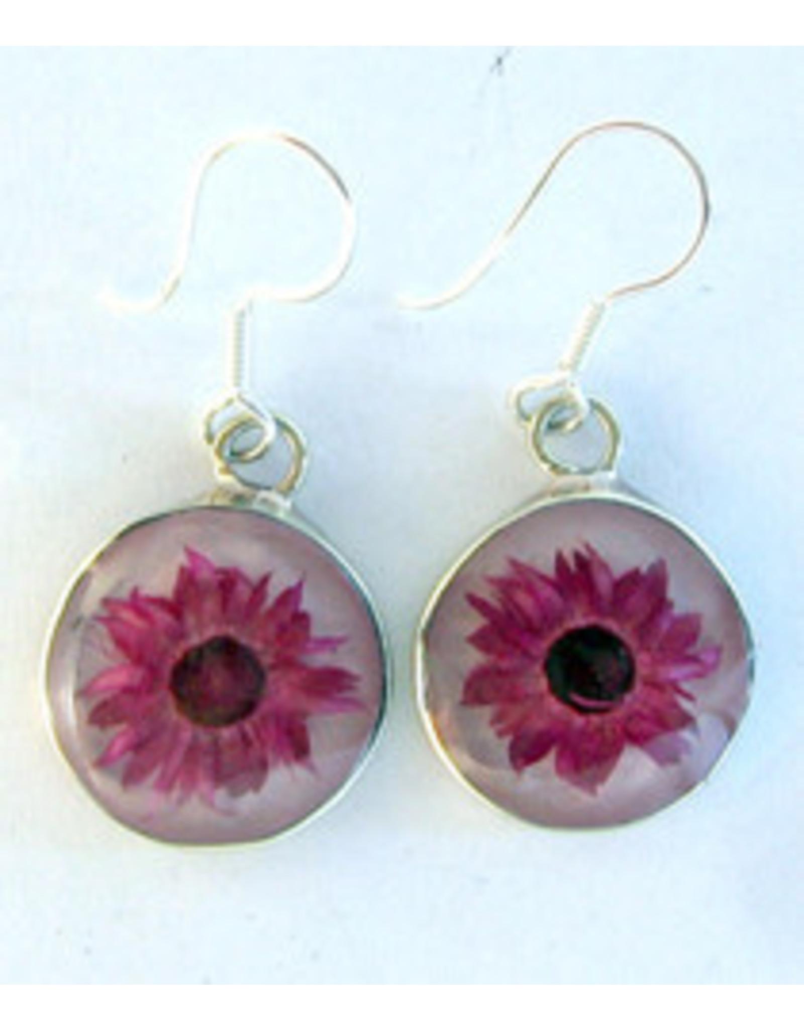 Nahua Flower Earrings, Mexico