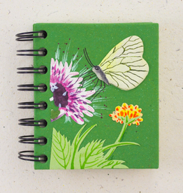 Sri Lanka, Small Notebook   60 Butterfly
