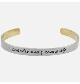 Stackable Cuffs, ONE WILD AND PRECIOUS LIFE